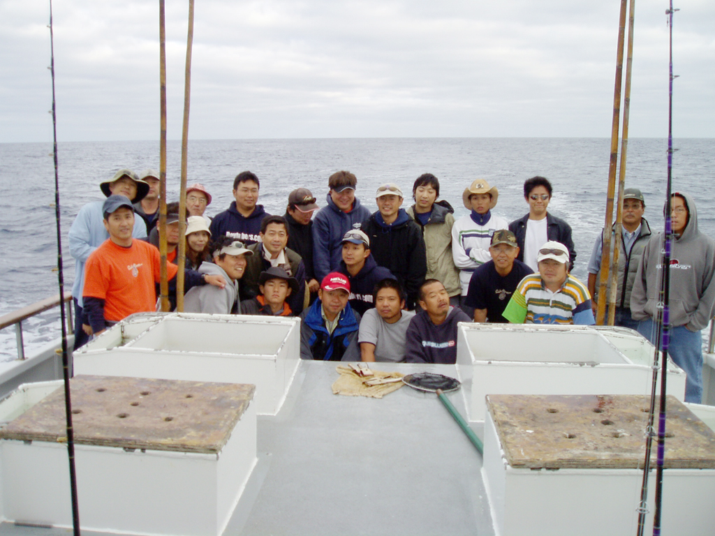 第二回SGNマグロ釣りチャーター  1